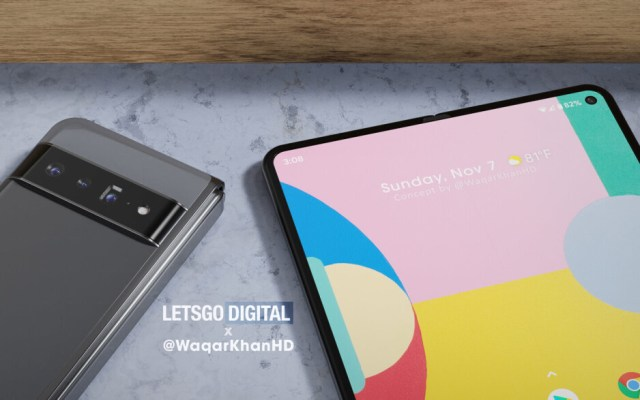 And yet another render of the foldable Pixel Fold - Pixel Fold renders surface (VIDEO); Google gets patent for the foldable's hinge
