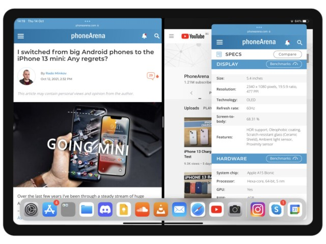 iPadOS 15 with two apps in Split View and one in Slide Over - iPadOS 16 concept: Apple, here's how iPad multitasking should be