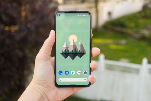The Google Pixel 5a's front will look about the same as the Pixel 4a 5G (shown here) - Google Pixel 5a vs Pixel 4a 5G: early comparison