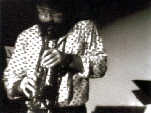 Evan Parker 1978 @ Western Front - Image by Kate Craig