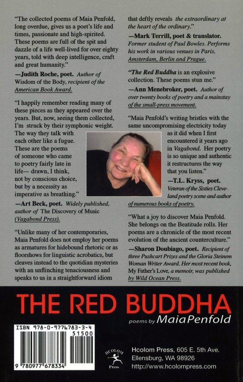 The Red Buddha | Poems by Maia Penfold | click the cover if you are interested in buying this book...