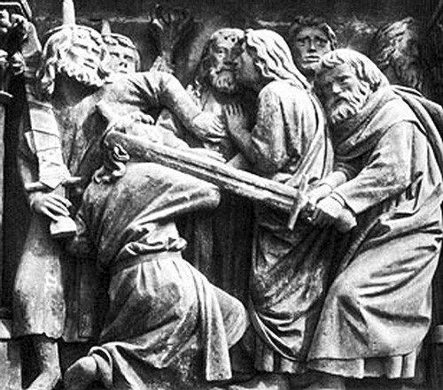 The-Kiss-of-Judas,-Choir-Sc