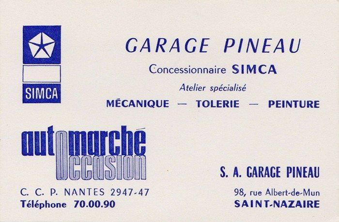 L histoire le garage for Garage mini rue des acacias paris 17