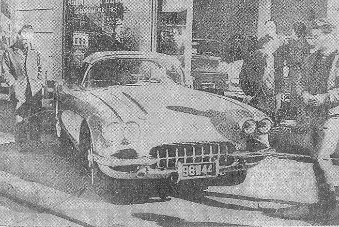 A un peu plus d'un demi-siècle d'intervalle, l'automobile dernier cri