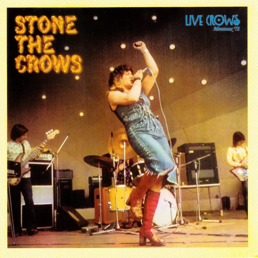Stone The Crows - Live Crows_enl