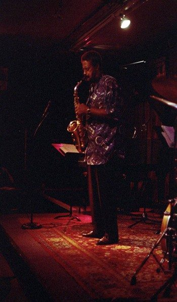 Charles McPherson -- October 17, 1979 (black & white) and October 5, 1998 (color) -- photos by Mark Weber