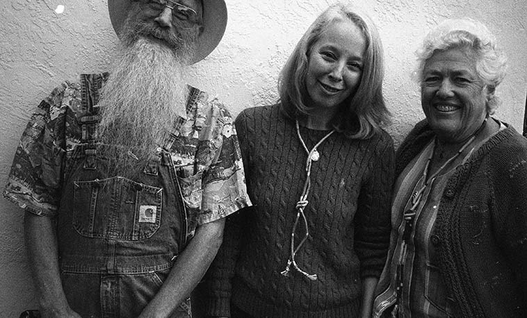 "Ken & Jeanie & Kazzrie Jaxen at Studio 725 -- Kazzrie sang with Ken & Jeanie on my  radio show the day before ( ! ) ---- photo by Mark Weber on his Olympus 35RC rangefinder -- October 22, 2o10 Albuquerque ---- I'm still trying to get Ken & Jeanie to put together a Cajun version of ""Take  Five"" to play on my show . . . . ."