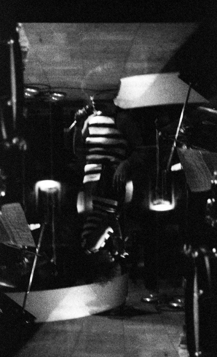 Betty Carter -- double-exposure -- The Lighthouse, Hermosa Beach -- December 4, 1976 -- photo by Mark Weber