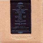 Frantz Loriot and Tonino Miano | Ulysses ; back cover