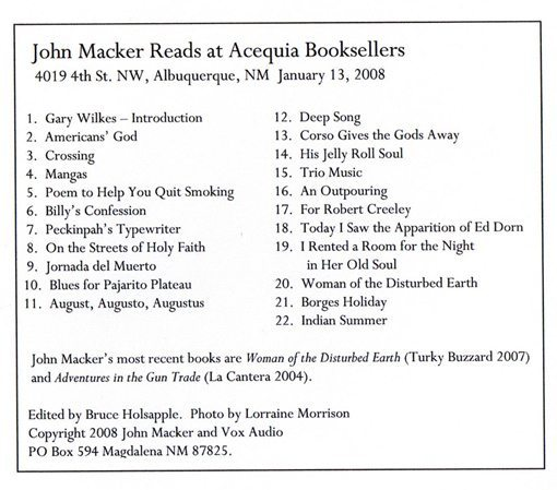 mackerback