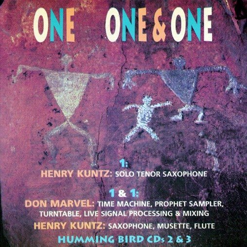 Henry Kuntz and Don Marvel - One one & one cover
