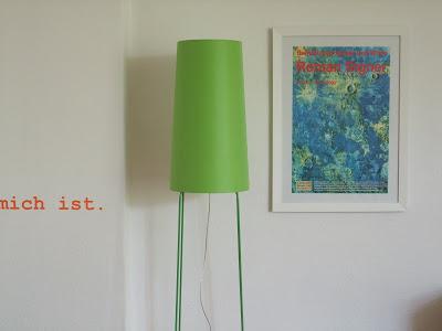 Lampe Sophie, Roman Signer, Farben, Wohnen, Einrichten