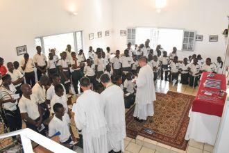 Nouveaux chevaliers au Gabon