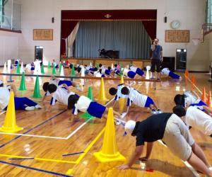 田老第一小学校プレイリーダー派遣事業