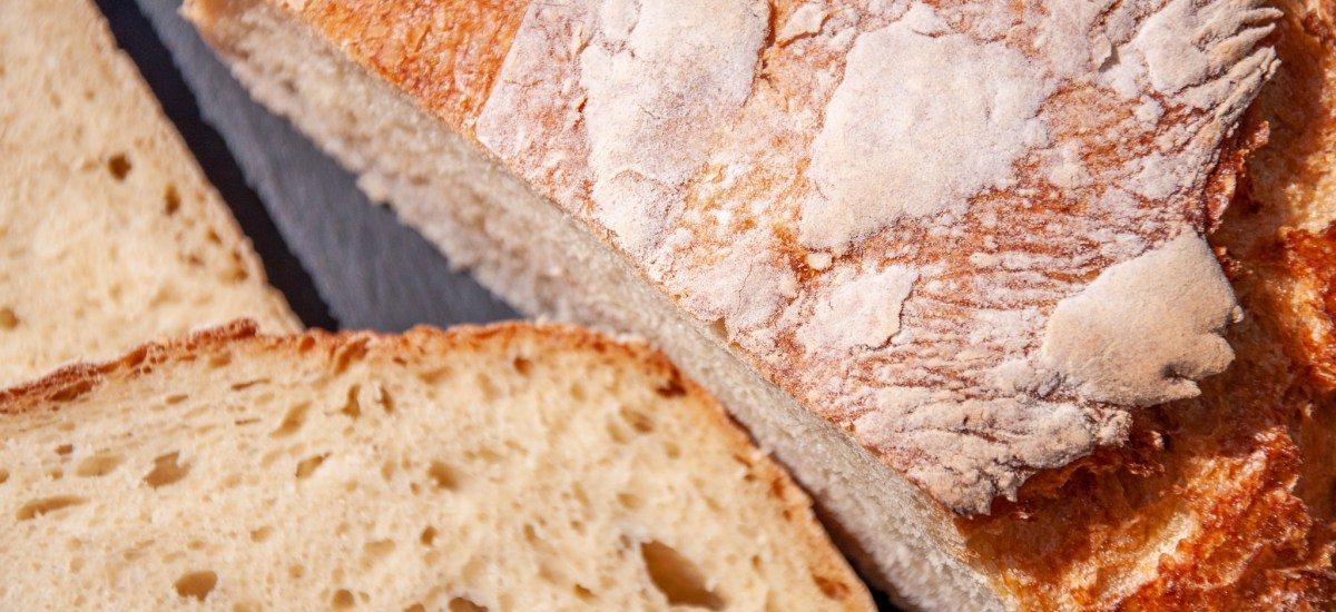 Boule de pain à la farine blanche
