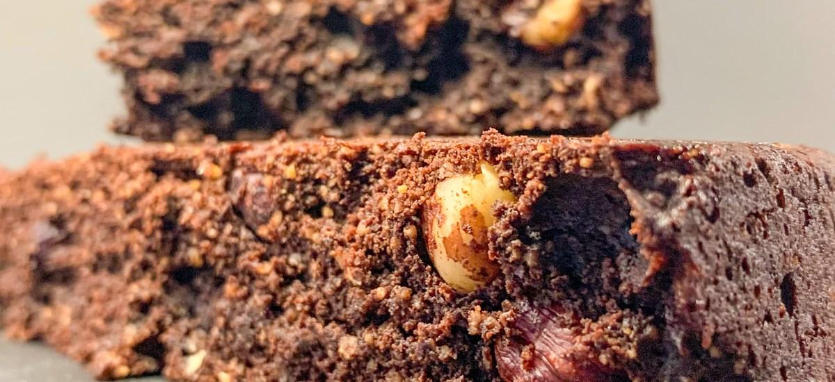 Gâteau au chocolat façon brownie (sans gluten)