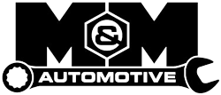 M&M Automotive logo maple grove mn