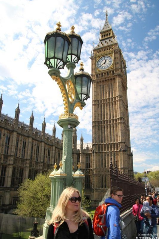Blick auf Big-Ben, London, England