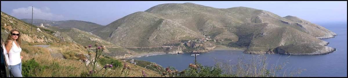 Blick zum Kap Mani, Messenien, Griechenland