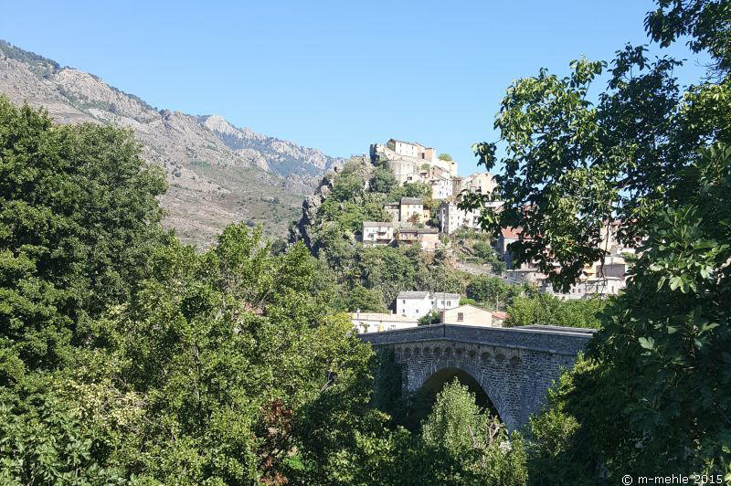Blick zur Burg, Corte