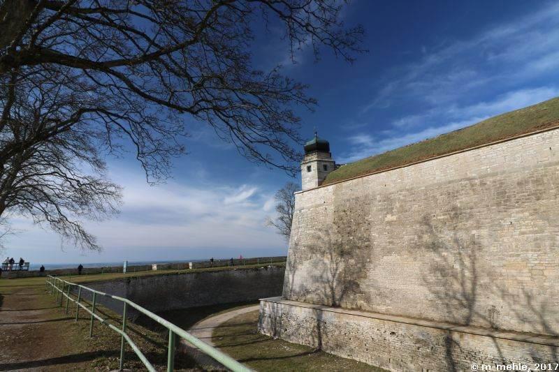 Wülzburg, Blick auf die linke Bastion