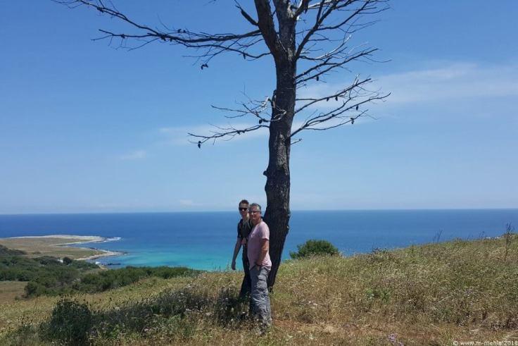 Blick am Capo Otranto