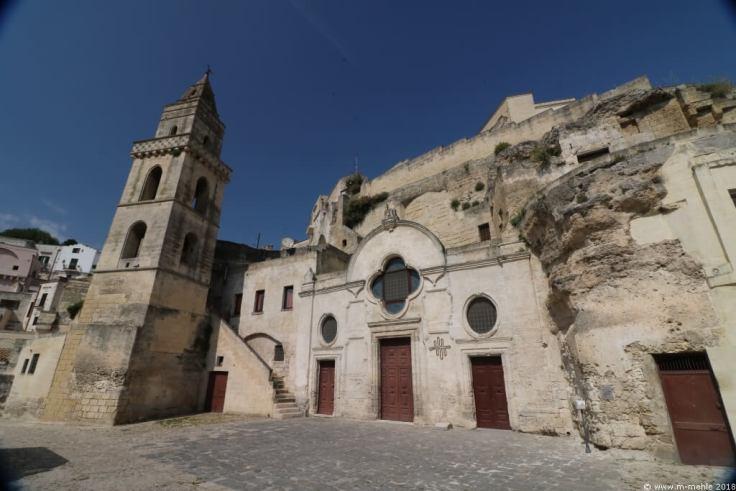 San Pietro Barisano, Matera, Basilikata, Italien