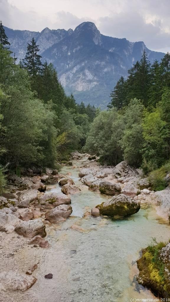 Die Soca in Slowenien