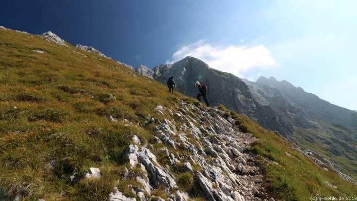 Zum Prisojnik, Slowenien