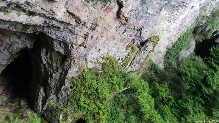 Bei den Höhlen von Škocjan, Slowenien