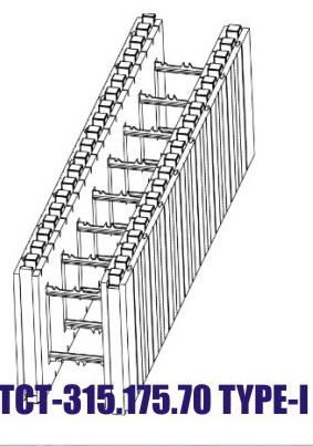 Строительство с применением системы ТСТ
