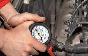 Замер компрессии бензинового двигателя