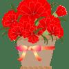 母の日にもらったカーネーションの鉢植え 来年も花を咲かせましょう!