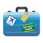 海外旅行のスーツケースにネームタグは付ける?住所や電話番号を書く?