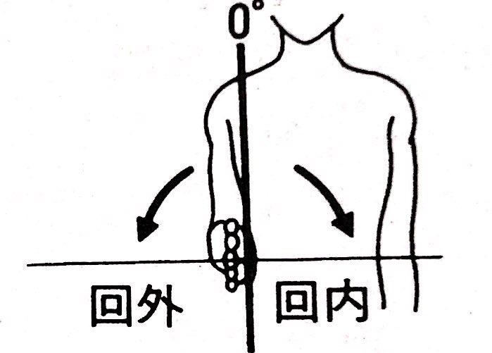 前腕可動域