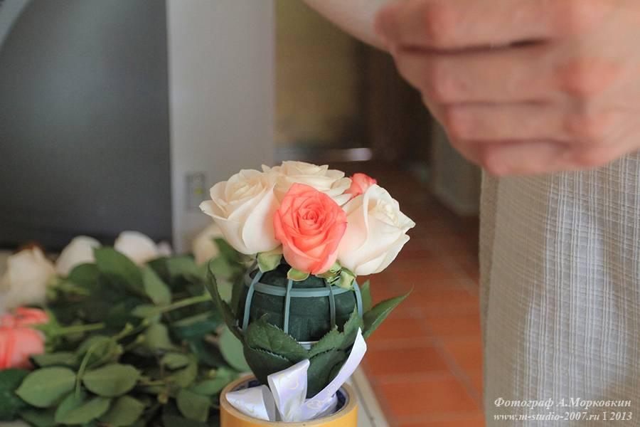 Калл фото, как собрать свадебный букет своими руками без портбукетницы