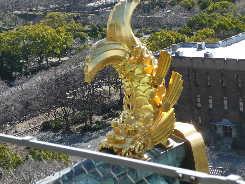 大阪城天守閣の鯱