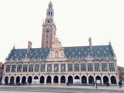 University Library Leuven Belgium