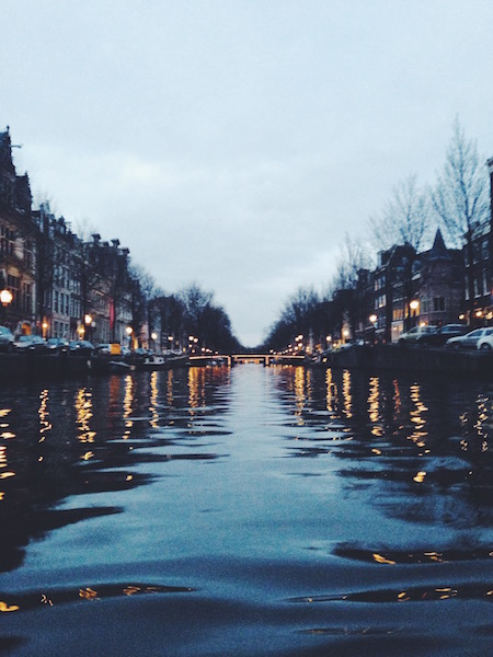 canal amsterdam netherlands