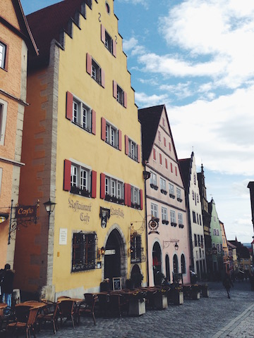 rothenburg germany travel