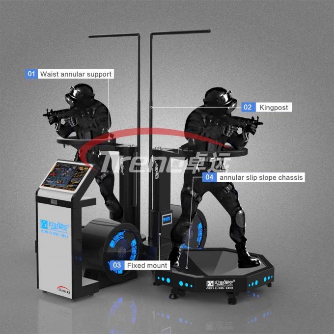 360 degree treadmill virtual run electric virtual reality omni game treadmill