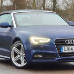 Blue Petrol Audi A5 Cabriolet Convertible Used Cars For Sale Autotrader Uk