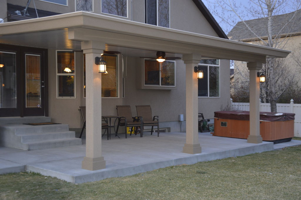 stucco trim patio covers gallery