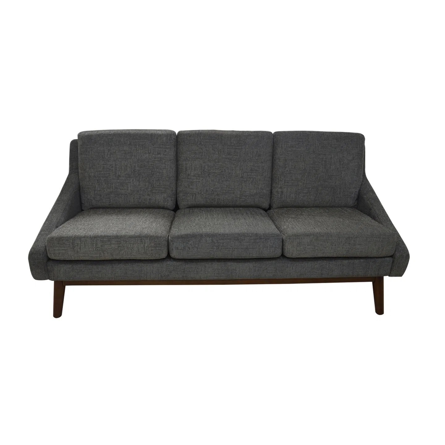 Davenport Sofa In Coffee Finish Legs Manufacturers Made In