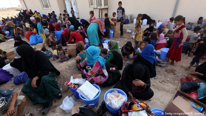 Irak Flüchtlinge in Machmur (Getty Images/AFP/S. Hamed)