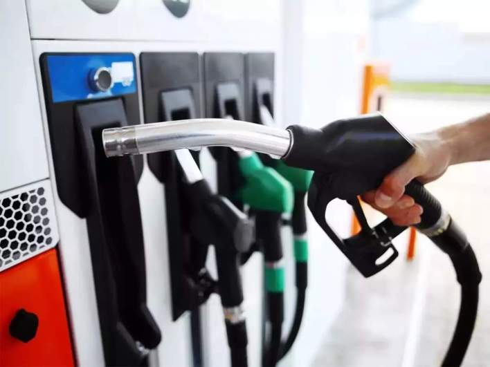 petrol price today: fuel price rise pauses after increasing for past seven days - the economic times