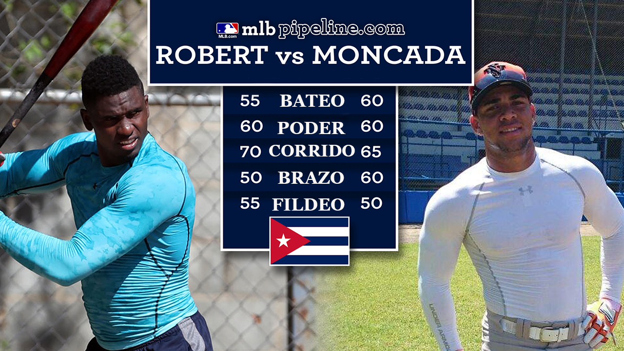 La comparación entre Luis Robert y Yoán Moncada, faceta por faceta