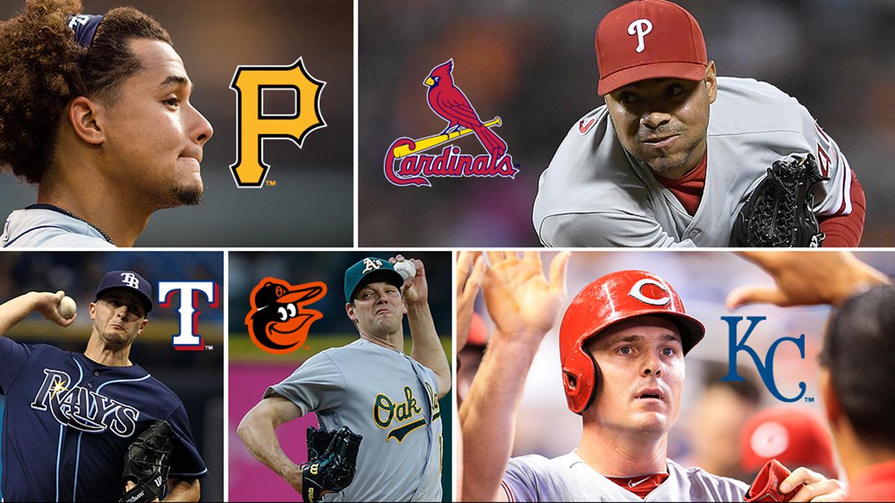 Cinco equipos que podrían hacer cambios de cara al 1ro de agosto