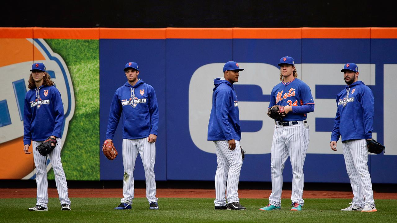 El pitcheo aún luce como el claro fuerte de los Mets