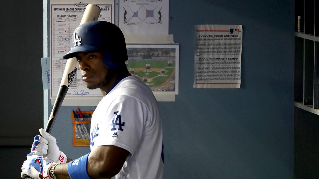Roberts ve a Puig como su jardinero derecho de todos los días en Dodgers